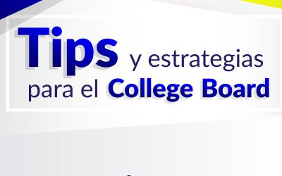 """Primer Taller Presencial """"Tips y Estrategias para el College Board"""